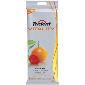 Trident Vitality Vigorate, 27-Count (Pack of 5)