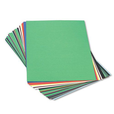 Pacon Construction Paper Peacock Sulphite, Assorted