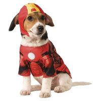 Marvel Iron Man Pet Costume - XL