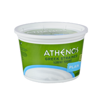 Athenos Greek Strained Plain Nonfat Yogurt