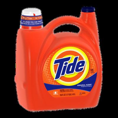 Tide Original Scent Liquid Laundry Detergent 150 Fl Oz