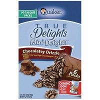 Quaker® Mini Delights Chocolatey Drizzle Rice Snacks