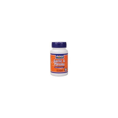 Now Foods Garlic & Parsley Softgels, 100-Count