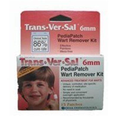 Doak Dermatologics Trans Ver Sal Pedia Wart Remover Patches 6 Mm - 15 Ea