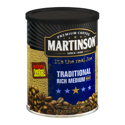 Martinson Traditional Rich Medium Roast Ground Coffee