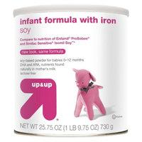 up & up Infant Formula Soy - 25.7oz (6 Pack)