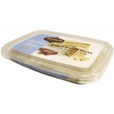 Achva Marble Sugar Free Halva Kosher,300 grams,Pack of 2