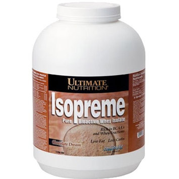 Ultimate Nutrition Isopreme Pure Bioactive Whey Isolate, Chocolate Dream, 80 Ounces