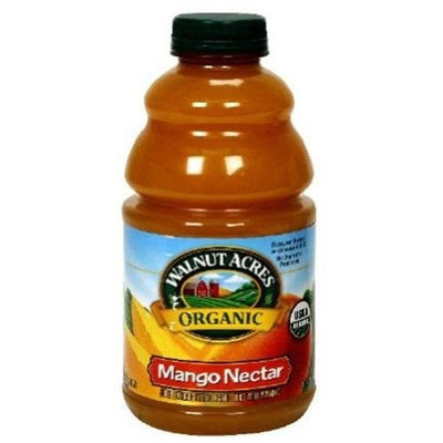 Walnut Acres Organic Farms Mango Nectar, 32-Ounce (Pack of 12)