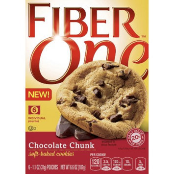 FIber One Chocolate Chunk Cookie Soft Baked