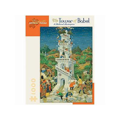 MC Escher Tower of Babel Puzzle 1000 pcs  Ages 12 and up
