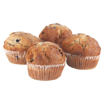 Ahold Blueberry Muffins - 4 CT