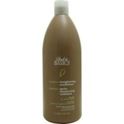 BACK TO BASICS by Graham Webb: BAMBOO STRAIGHTENING CONDITIONER FOR ALL HAIR TYPES 33 OZ