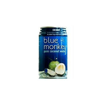 Blue Monkey B49570 Blue Monkey 100% Natural Coconut Water -24x11. 2 Oz