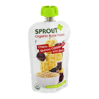 Sprout Organic Baby Food Cherry Quinoa Cobbler with Corn