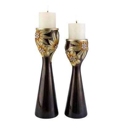 Cam Consumer Products, Inc. Golden Demeter Candleholder Set