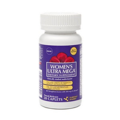 GNC Women's Ultra Mega Multivitamin