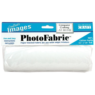 Crafter's Images PhotoFabric 100% Cotton Poplin-8-1/2 X120 Roll