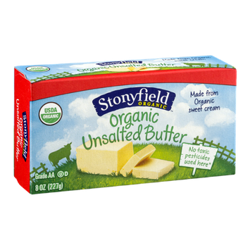 Stonyfield Organic Butter Unsalted