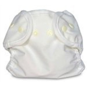 Bummis Super Snap Diaper Cover, White, Newborn (Discontinued by Manufacturer)