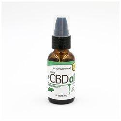 +CBD PlusCBD 1 oz. Hemp Oil Spray 100 mg PEPPERMINT CannaVest
