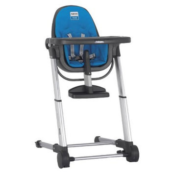 Inglesina ECOM Zuma Highchair - Gray/Light Blue