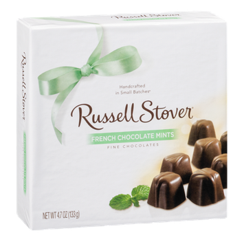 Russell Stover Fine Chocolates French Chocolate Mints