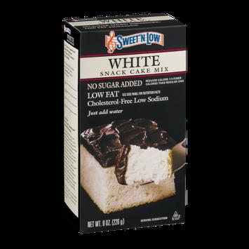 Sweet'N Low White Snack Cake Mix