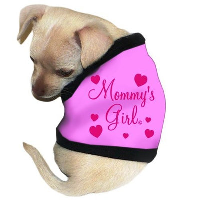 Pet Tease Mommy's Girl Dog Tank, Pink
