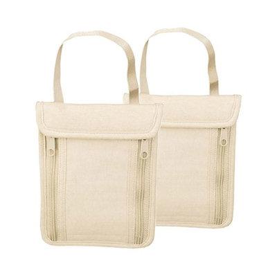 Travelon Undergarment Neck Pouch Tan (2-Pack) Undergarment Neck Pouch