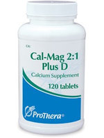 Prothera Cal-Mag 2:1 Plus D 120 tabs
