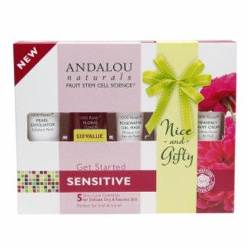Andalou Naturals 1000 Roses Get Started Skin Care Essentials Kit ($30 Value), 1 set