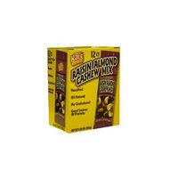 Kars Nuts Kar's Raisin Almond Cashew Mix 1box 12 Ct of 2.25 Oz Packages