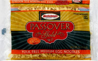 Manischewitz EGG NDL, MED, YOLK FREE, GF, (Pack of 12)