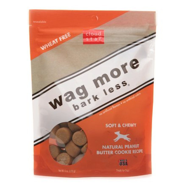 Cloud Star Wag More Bark Less Soft & Chewy Dog Treats Peanut Butter Cookie recipe