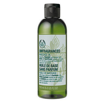 THE BODY SHOP® Unfragranced Massage Oil