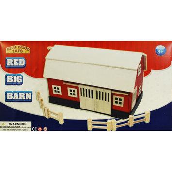Homewear Big Red Wood Barn