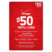 Verizon Pre-paid Cell Phone Card VERIZON 50