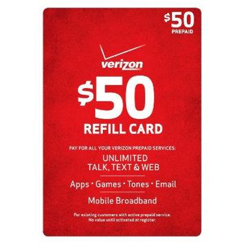 Verizon Pre-paid Cell Phone Card VERIZON 50