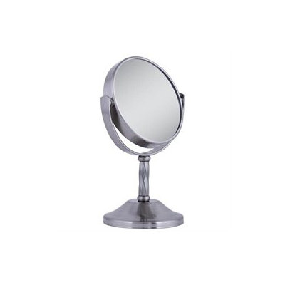 Zadro Two-Sided Mini Vanity Swivel Mirror with 3x Magnification