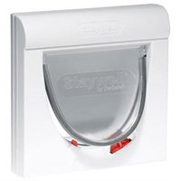 Radio Systems Corporation Staywell S-932 Magnetic Cat Flap Classic Model - White