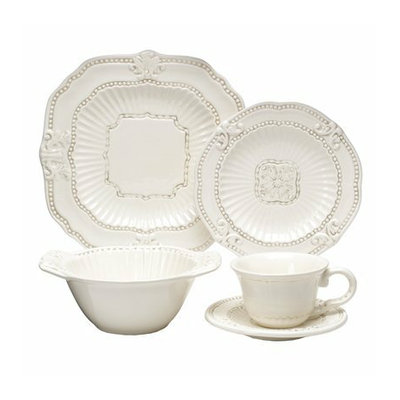 Savinio Designs Baroque 20-pc. Dinnerware Set