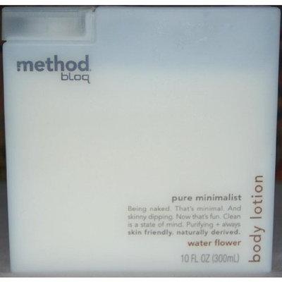Method Bloq Body Lotion, Pure Minimalist Water Flower, 10 oz.