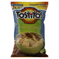 Tostitos Hint of Lime Tortilla Chips 13 oz