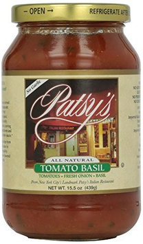 Patsys Brands SAUCE, TOMATO BASIL, (Pack of 12)