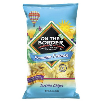 On the Border On The Border Premium Rounds Tortilla Chips 11.5 oz