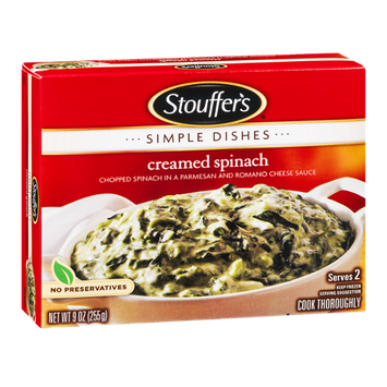 Stouffer's Simple Dishes Creamed Spinach