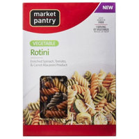 market pantry Market Pantry Vegetable Rotini Pasta 12 oz