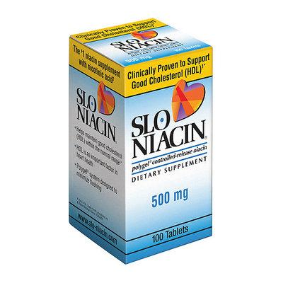 Upsher-Smith Slo-Niacin 500mg Dietary Supplement Niacin Tablets