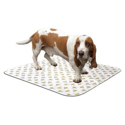 PoochPad Reusable Potty Pad for Dogs - White (Medium)